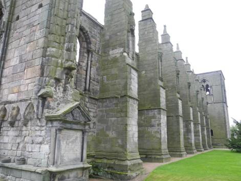 ruínas de Holyrood Abbey