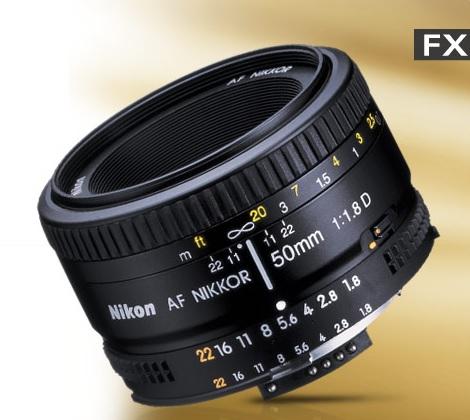 lente 50mm Nikon