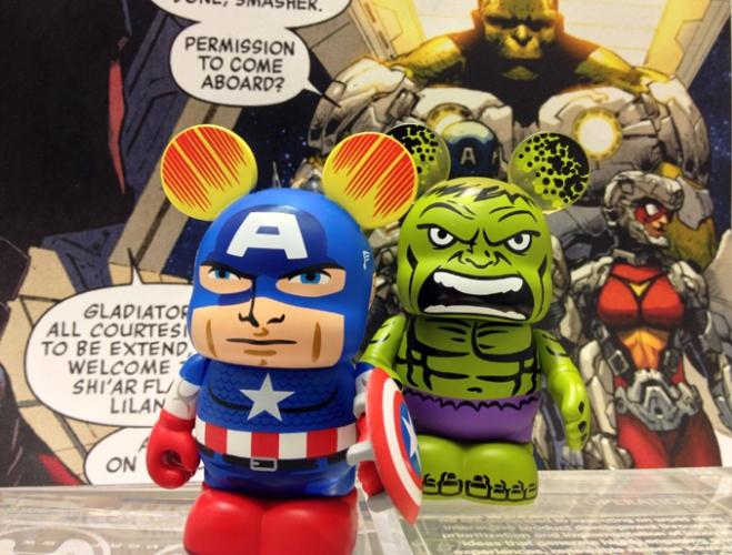Capitão América e Hulk