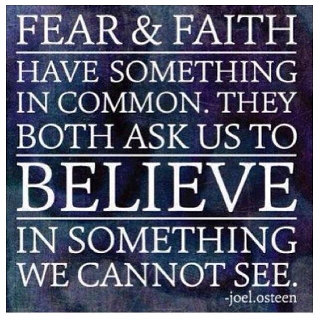 fear and faith