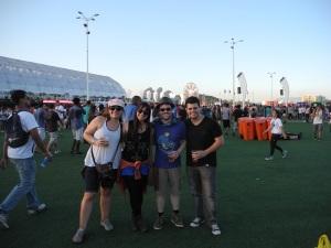 companheiros do dia 14: Dani, Leo, e Gabriel!