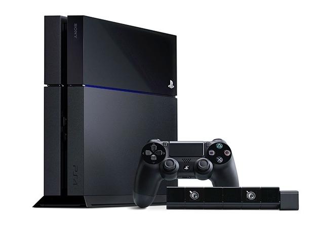 PlayStation 4, DualShock 4, e a câmera PlayStation 4 Eye